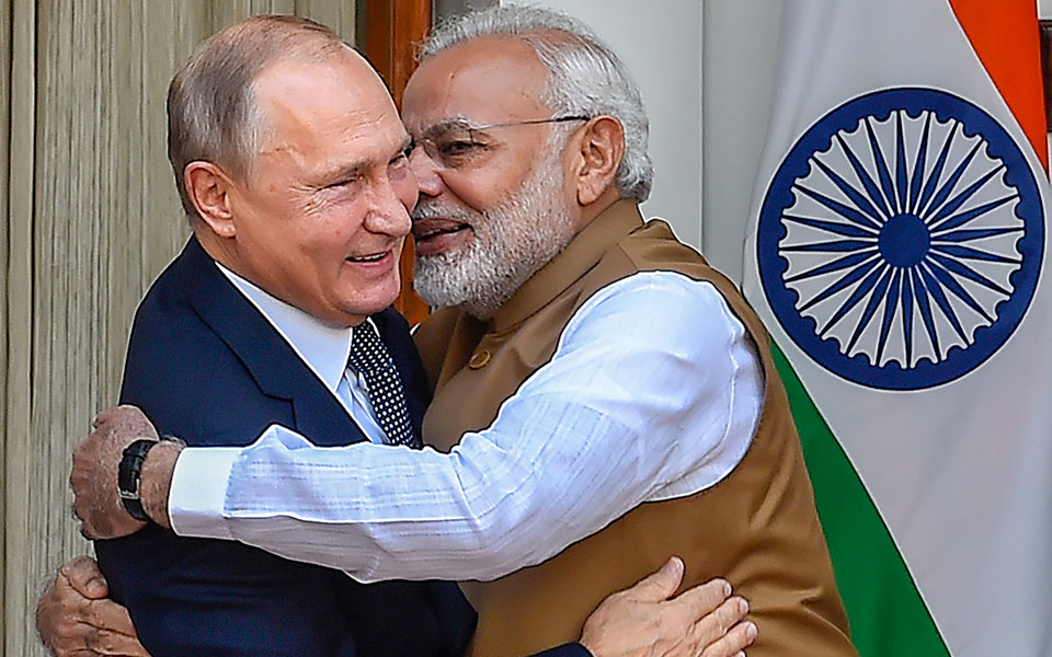 Modi, Putin meet for annual summit