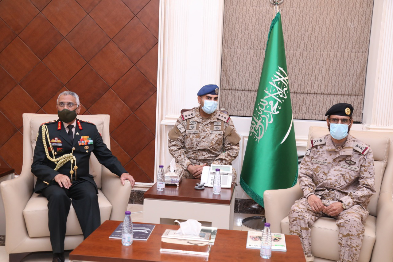 Gen. Naravane holds talks with top Saudi generals; discusses ways to enhance defence cooperation
