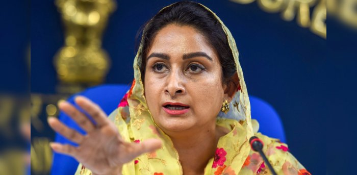 Centre treating farmers as 'enemy of State', alleges Harsimrat Kaur Badal
