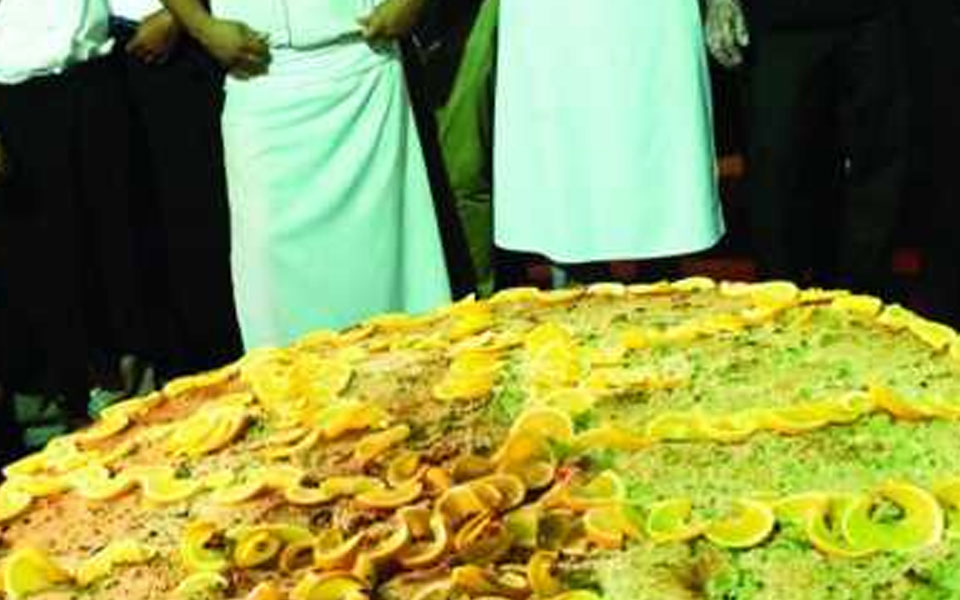 Fish patty, cooked & measured makes Guinness record