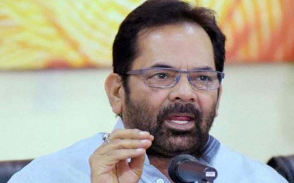 Union Minister Mukhtar Abbas Naqvi says most of the lynching cases are 'fabricated and fake'