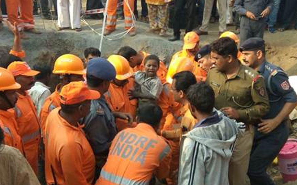 Boy rescued from 200-ft borewell after 16-hr rescue operation
