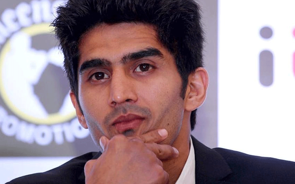 2008 Olympic medalist Vijender Singh is Cong candidate from South Delhi