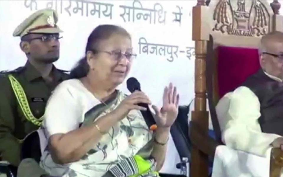 Took help of Congress leaders for Indore's development: Sumitra Mahajan