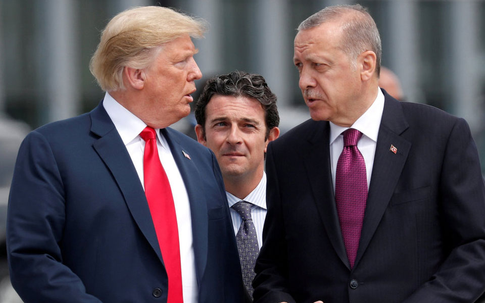 Trump, Erdogan agree to pursue a negotiated solution for northeast Syria: White House