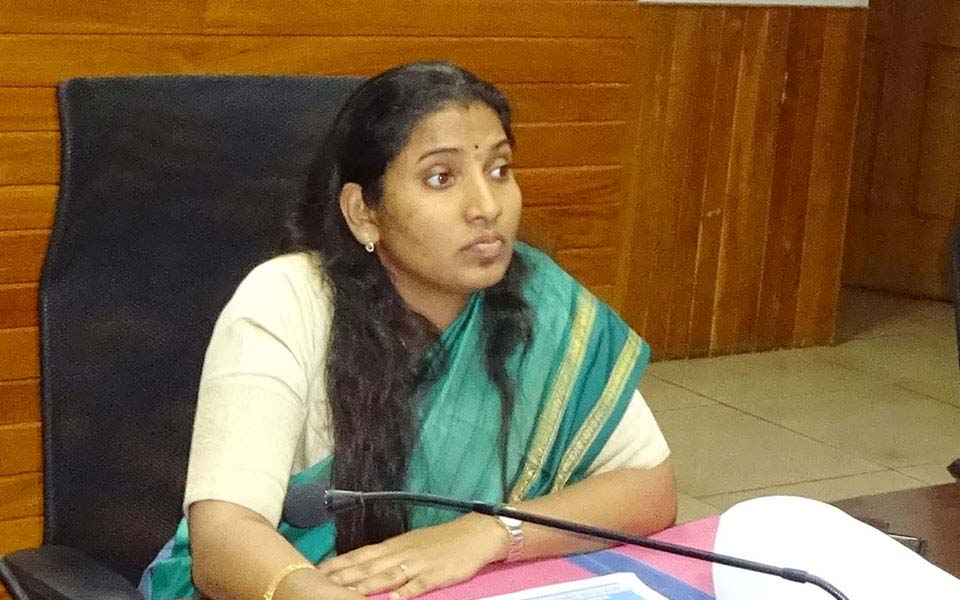Udupi DC Hepsiba Rani Korlapati transferred, J Jagdish to take charge