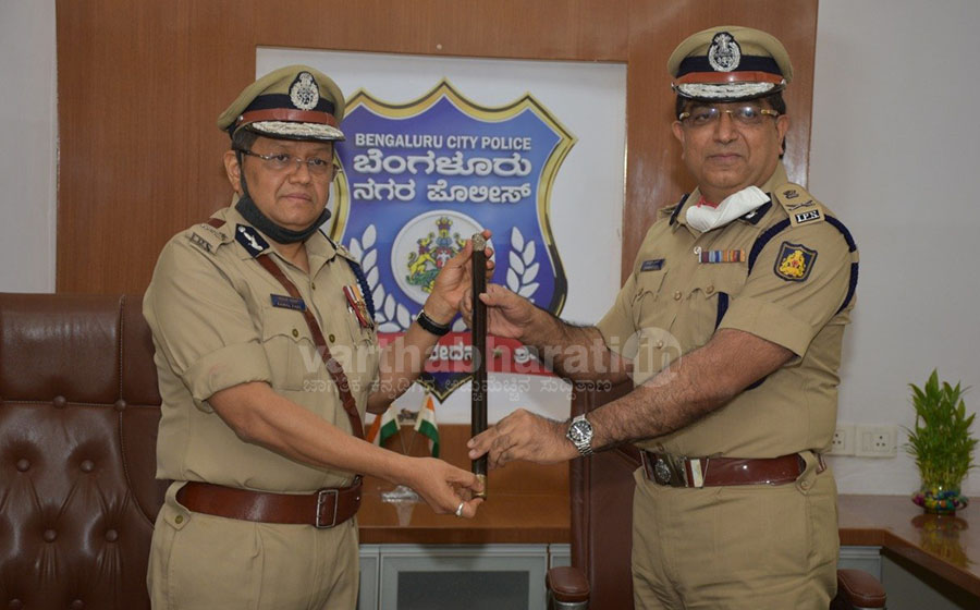 Kamal Pant takes charge as the new Bengaluru City Police Commissioner