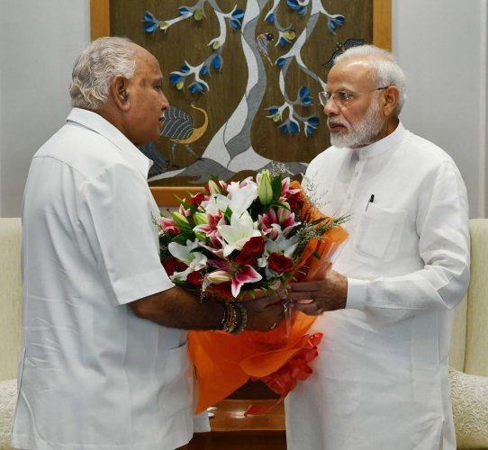 CM Yediyurappa thanks PM Modi for clearing Metro projects