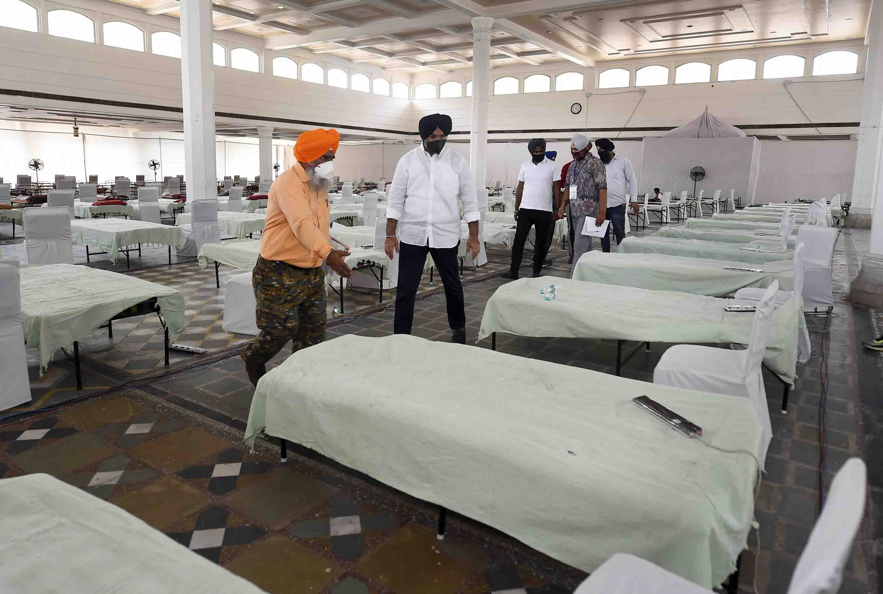 IAF to set up 100-bed COVID care facility in Bengaluru