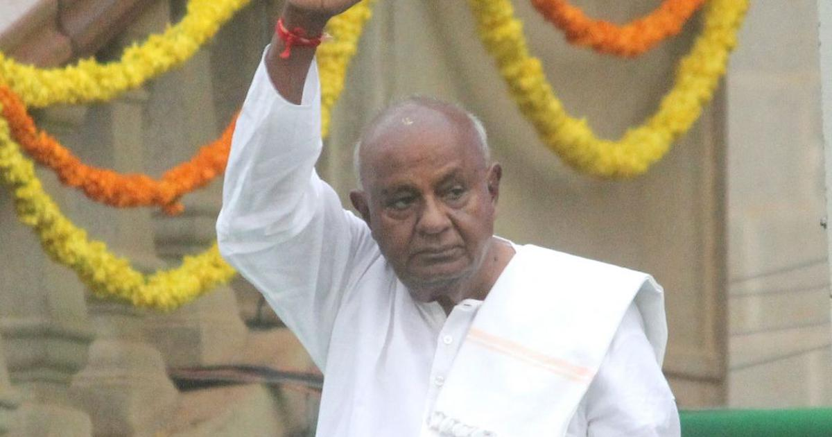 "Deve Gowda not allowed to finish his maiden speech in Rajya Sabha; party says ""insult to Karnataka"""