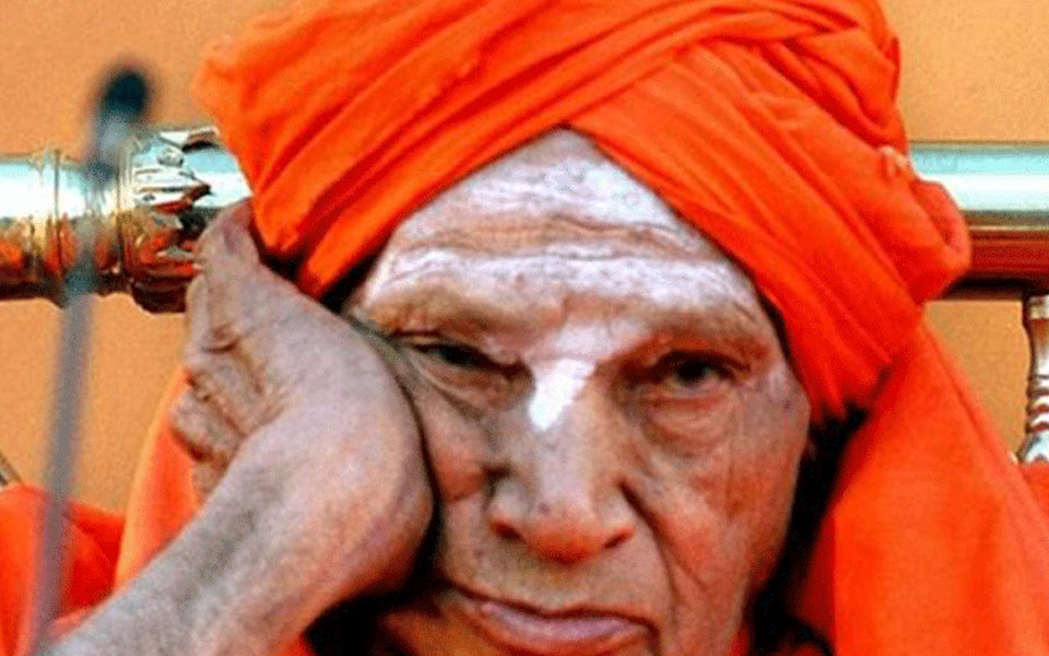 Heavy fluctuations in the health of Siddaganga Seer