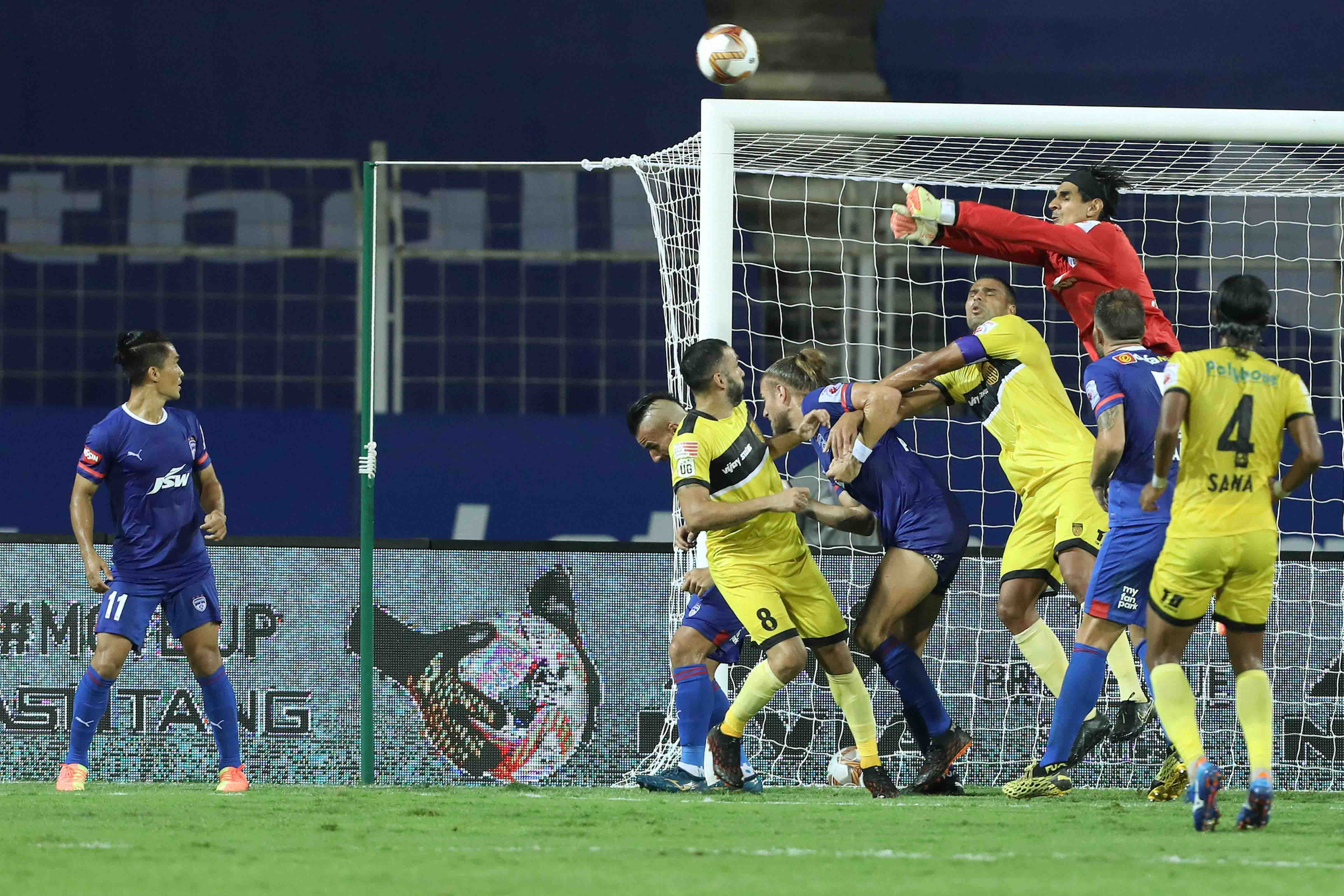 Hyderabad play goalless draw with Bengaluru in ISL