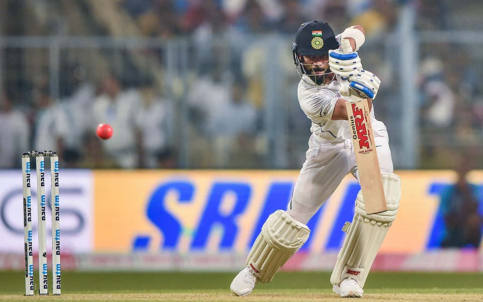 Kohli fastest to 5000 Test runs as captain