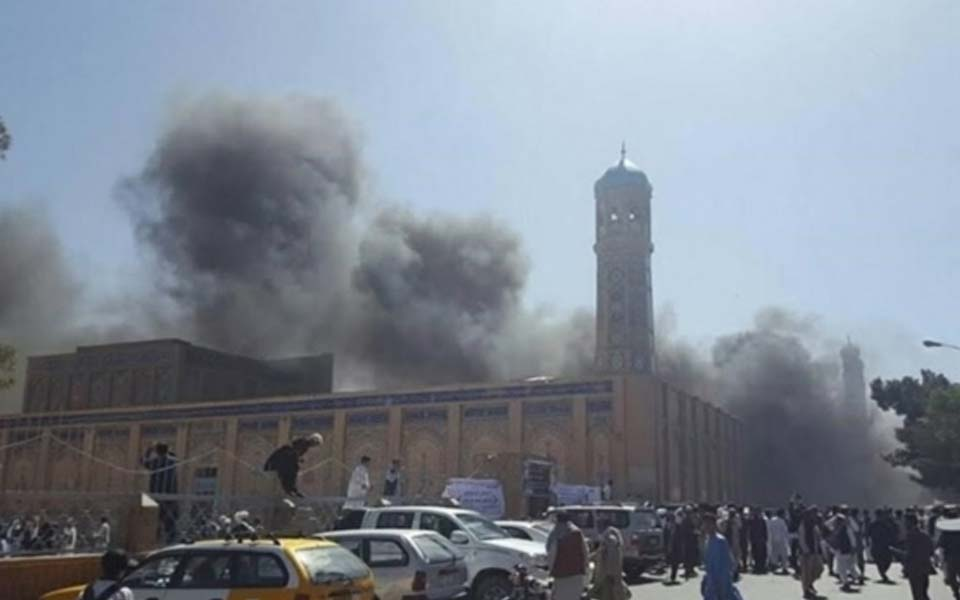 At least 28 killed in Afghan mosque blast during Friday prayers
