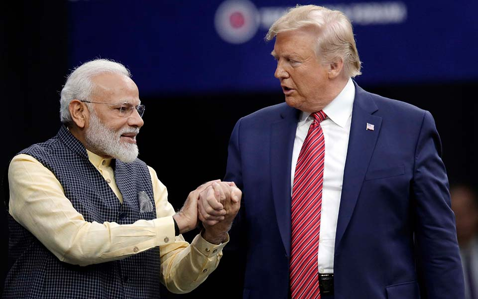 Border security vital to both America and India: Trump says in presence of PM Modi at 'Howdy, Modi'